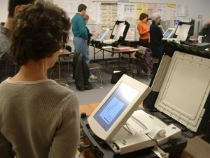 Montgomery County Board of Elections touchscreen voting machines