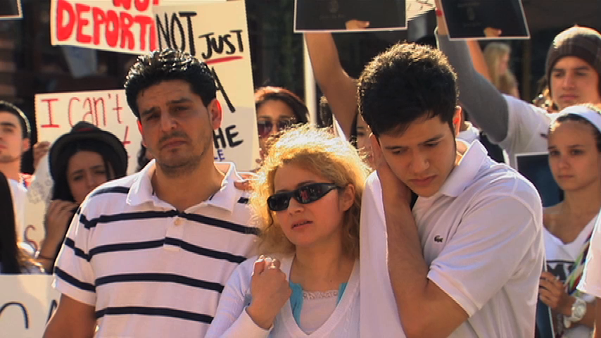 Montgomery County College student, Jorge Acuna got a reprieve from deportation.