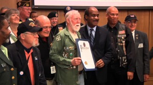 The County Executive's commission on veterans' affairs sponsored the Third Annual Vietnam Veterans Reunion, hosted by County Executive Ike Leggett.