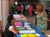 This year's annual housing fair focused on loan modifications, free credit reports and guidance for people looking for affordably rental property.