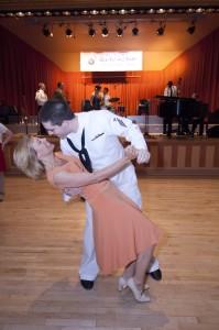 Couple dancing at Glen Echo Gala, Arts and Humanities Council