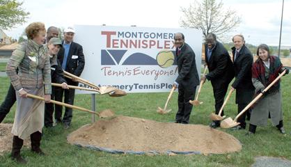 Montgomery County TennisPlex Ground Breaking Ceremony