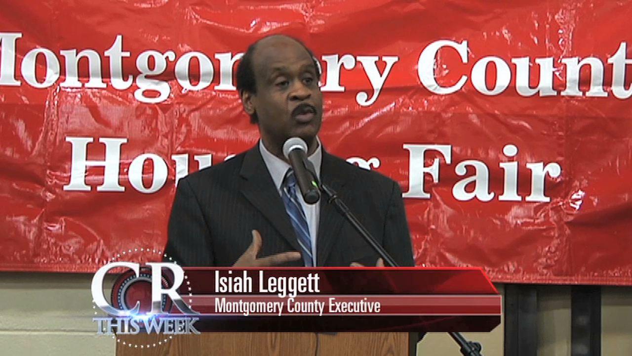 Ike Leggett at Housing Fair picture