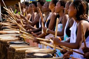 sweet dreams girls drumming photo