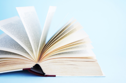 Image of book pages to ask people to Donate Books At Gaithersburg Book Festival