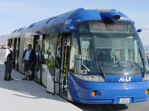 Image of modern bus