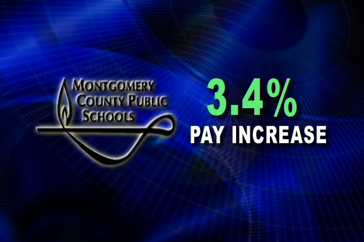 Image for 3.4% Pay Increase For MCPS