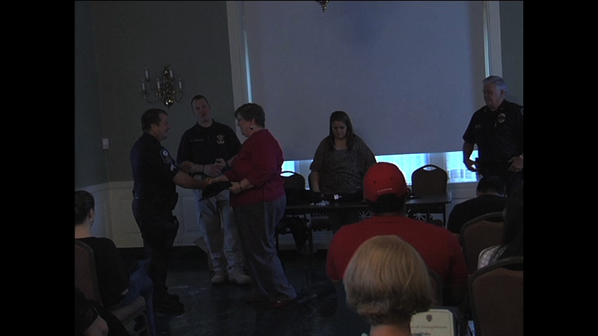 picture of the Rockville Citizen's Police Academy class