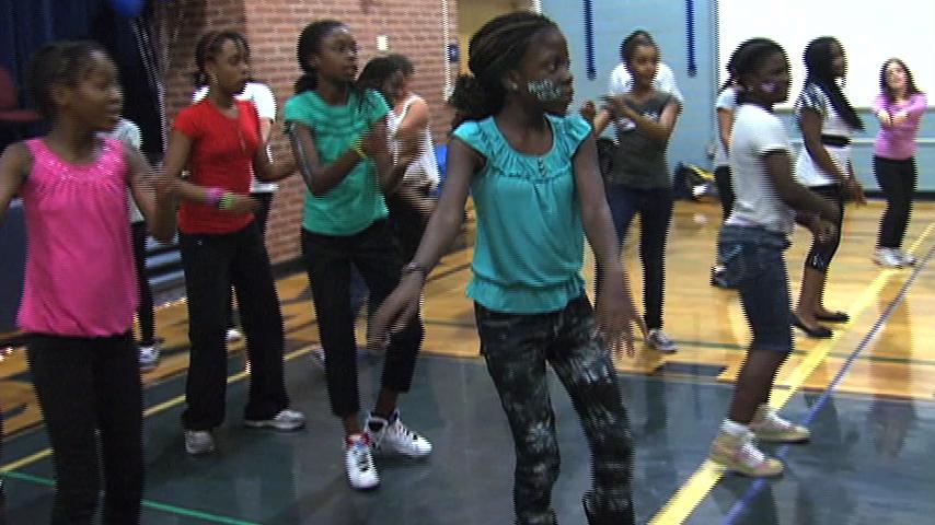 picture of children dancing