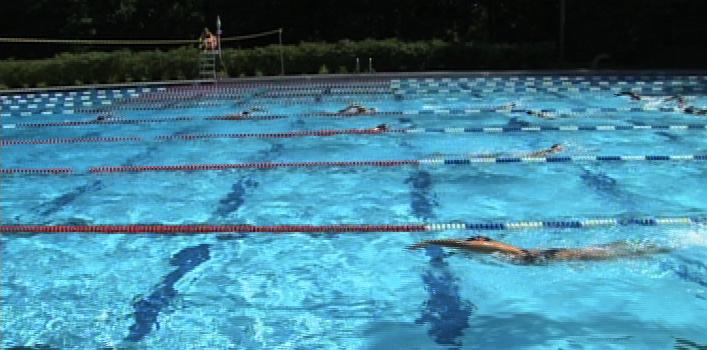 Swim practice picture