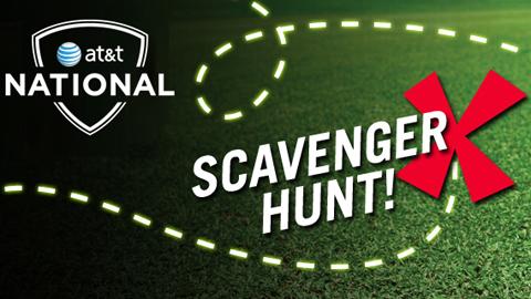 AT&T National Scavenger Hunt graphic