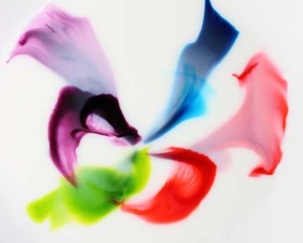 Milk and Dye I by Thomas Germer