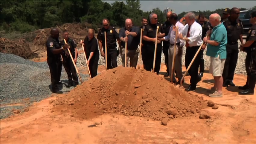 Groundbreaking of Montgomery County 3rd district Police Station