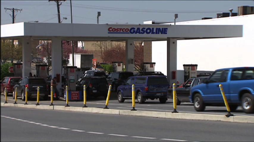 Costco Mega Gas Station