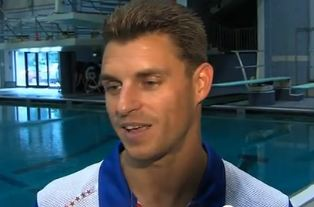 Image of Olympic diver Troy Dumais