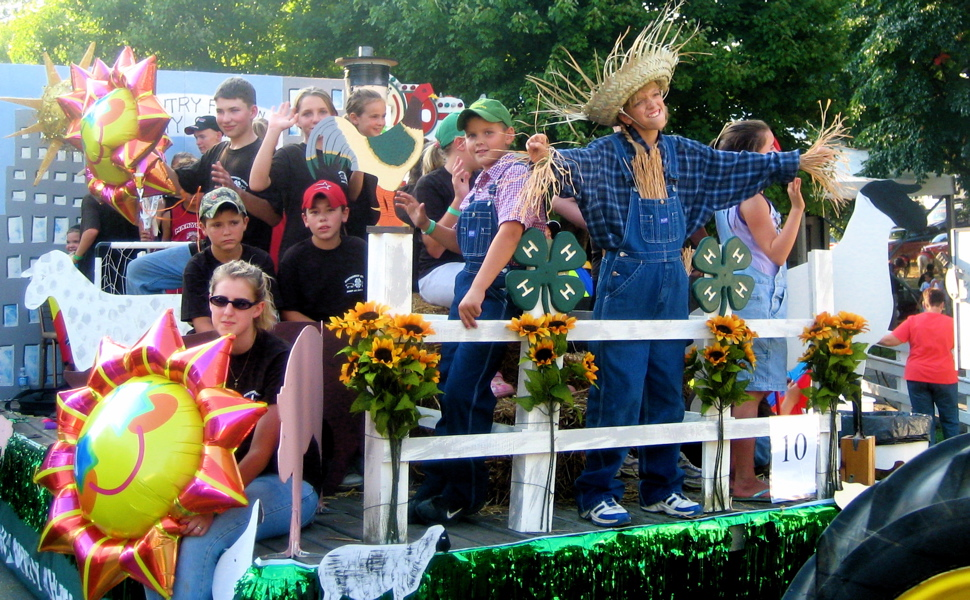 image of 4-H Parade at Montgomery County Fair