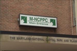 M-NCPPC sign picture