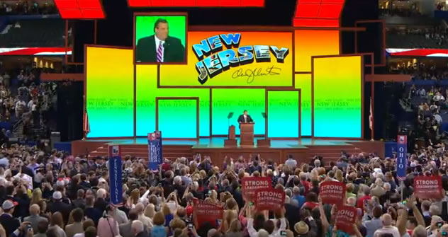 Governor Chris Christie at Republican National Convention 2012