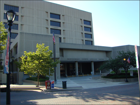 Montgomery County Judicial Center in Rockville