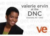 Valerie Ervin at the DNC
