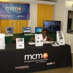 Kenge Malikidogo-Fludd at the MCM booth
