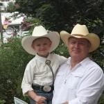 Rob Snip and son at MoCo Agricultural Fair