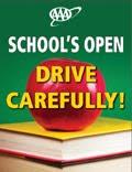 School's open drive carefully