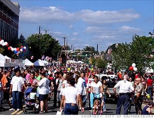 Celebrate Gaithersburg street scene