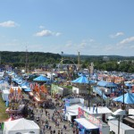 The Fair from above