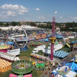 Image of view from above the Fair