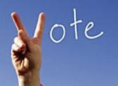 Fingers vote