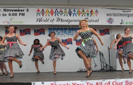 World of Montgomery Festival dance performance