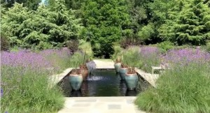 Fountain at Brookside Gardens
