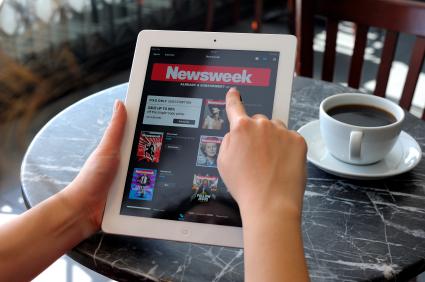 Newsweek on iPad3