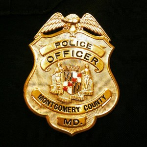 Montgomery County Police Badge