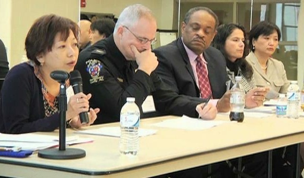 County officials at the Diversity Summit