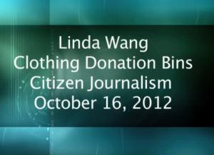 Clothing Bin Donation