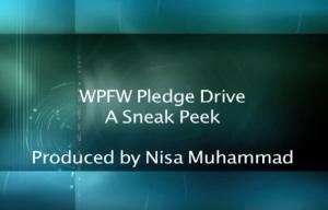 WPFW Pledge Drive