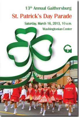 poster for St. Patrick's Day Parade