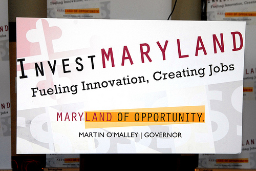 Invest Maryland logo
