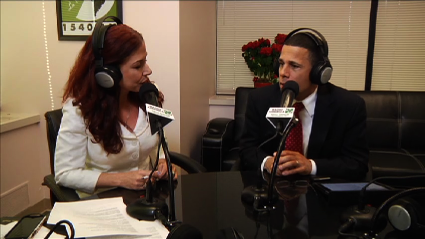 Lt Governor Anthony Brown on Montgomery Al Dia radio show