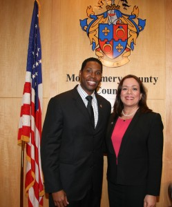 Nancy Navarro was unanimously selected as the new president of the Montgomery County Council on Dec. 4. She became the first Latina president of the Council. Craig Rice was unanimously selected as vice president. They will serve one-year terms.