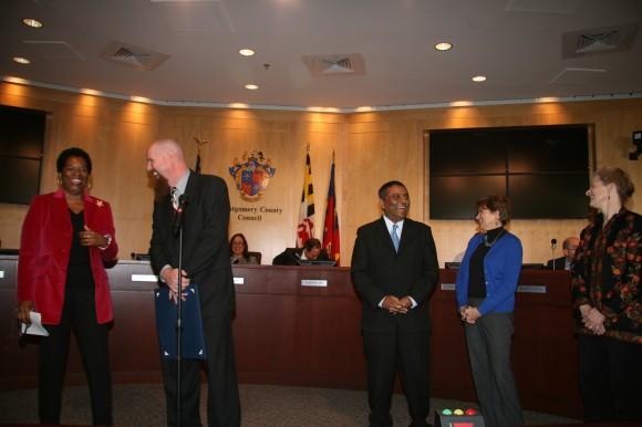 John Hamman at MoCo Council