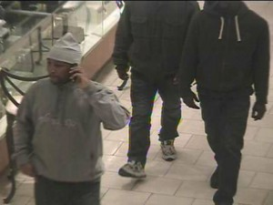 Jimmy Choo store robbery suspects photo