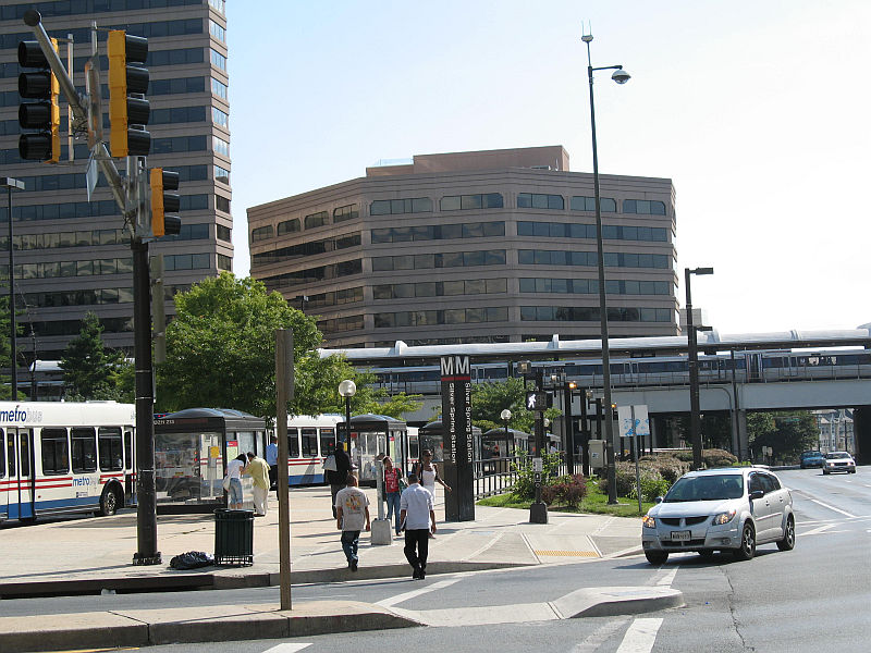 Silver Spring Metro Station Photo