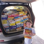 photo Norwood School's Cereal Drive