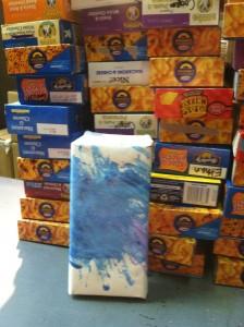 photo wrapped Mac N Cheese