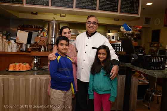 Chef Mike and Family