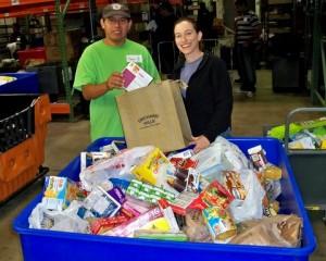 photo of Orchard Hills Community Food Drive