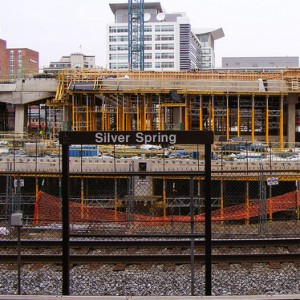 Silver Spring Transit Center Underway